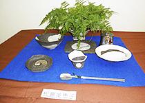 鎌倉陶芸教室、村上工房作品展の様子