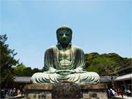 鎌倉陶芸村上工房の周辺風景・鎌倉大仏